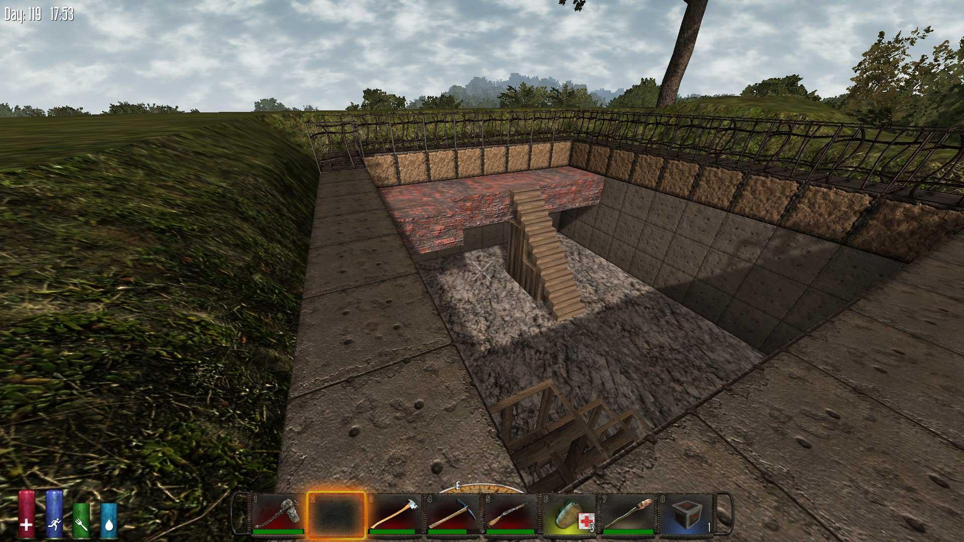 7 days to die castle dread trentbrandon for Wood floor 7 days to die